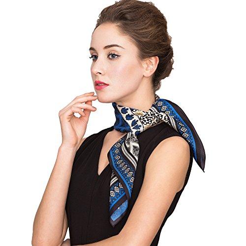 シルクスカーフを60代女性にプレゼント