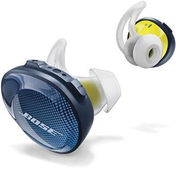 Bose SoundSport Free wireless headphones 完全ワイヤレスイヤホン ミッドナイトブルー/イエローシトロン