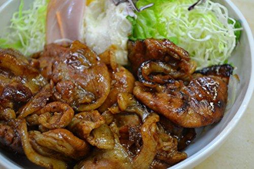 豚肉 豚ロース 生姜焼き 1kg 味付き(自家製ダレパック そのまま焼くだけ) 1000g ご飯のお供に最高 【 国産豚ロース 焼肉 簡単調理 】