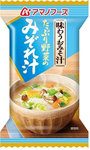 アマノフーズ 味わうおみそ汁 みぞれ汁 9.5g×10個