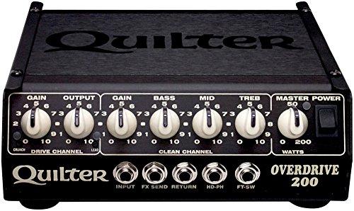 Quilter ( クイルター ) 200W 超コンパクト ギターヘッドアンプ OVERDRIVE 200 【440g~】超小型アンプ特集!小さく持ち運びも楽で良い音のする安い小型ヘッドアンプ!