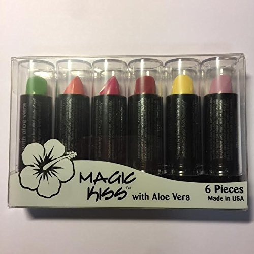 Magic Kiss with Aloe Vera Assorted 6本 マジック キス (#13)