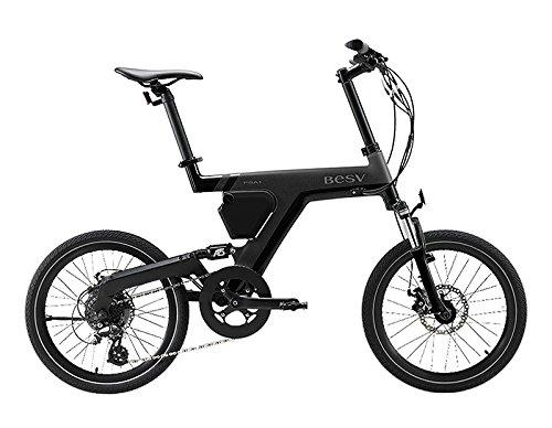 BESV(ベスビー) PSA1(PSA1) 電動アシスト自転車 20インチ 2018年モデル YTRT06 (ブラック)