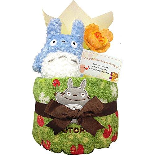 出産祝いにとなりのトトロのおむつケーキはもらって嬉しいギフト