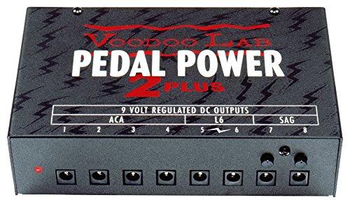 Voo Doo LAB「PEDAL POWER 2 PLUS」パワー・サプライ・ユニット [国内正規品] 高橋しょう子(たかしょー)さんのギターの機材! AV・セクシー女優だけど超本格派!