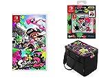 【Amazon.co.jp限定】Splatoon 2 (スプラトゥーン2)+Nintendo Switch専用カードポケット24 スプラトゥーン2+オールインボックス スプラトゥーン2+オリジナルメタルチャーム3種(ガール・ボーイ・イカ(連結可能))