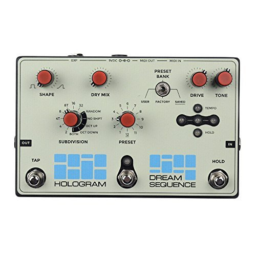Hologram Electronics Dream Sequence Programmable Rhythm & Octave [並行輸入品] 【徹底紹介】綾野剛のエフェクターボード・機材を解析!ツマミ・ノブの位置も分かる!ギターを支える足元の機材の数々を紹介! #綾野剛 #thexxxxxx #ザシックス【金額一覧】