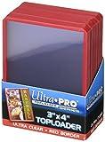 ウルトラプロ トップローダー ホルダー 赤枠 (RED) BOX (25枚入り)