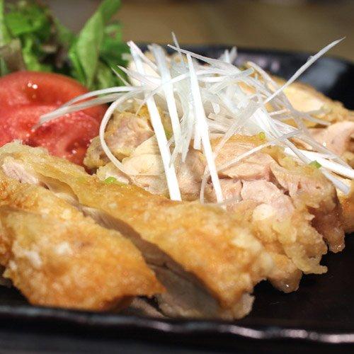 水郷どり もも揚げ鶏のねぎソース 唐揚げ 油淋鶏