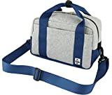 (チャムス) CHUMS Camera Boston Bag Sweat Nylon (カメラ ボストンバッグ) CH60-0805 H-Gray/Basic Navy-G019