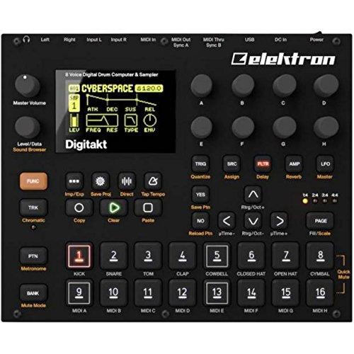Elektron エレクトロン/Digitakt DDS-8 デジタル・ドラムマシン テンテンコ さんのオススメ機材は「elektron digitakt」【徹底紹介】プロの作曲家・アーティストの買ってよかったオススメ機材・プラグイン!エンジニア・DTMerは必見!【DTM・REC】