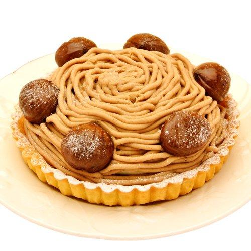 天使のおくりもの ホールケーキ 至福のモンブランタルト