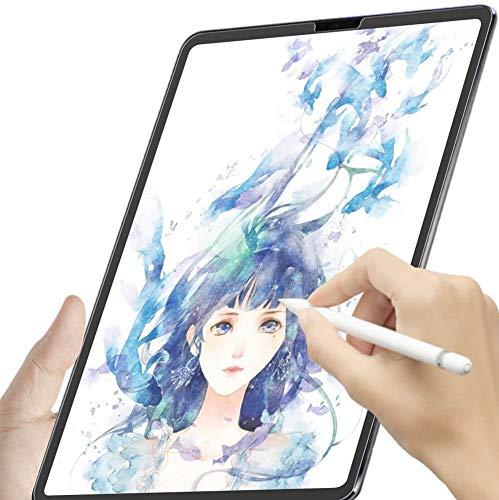 「PCフィルター専門工房」iPad Pro12.9 2018用 ペーパーライク フィルム 紙のような描き心地 反射低減 アンチグレア 貼り付け失敗無料交換 保護フィルム(iPad Pro12.9 2018)