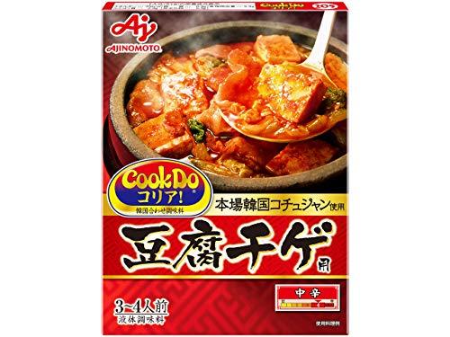 味の素 CooKDo コリア!  豆腐チゲ用 3-4人前×4箱