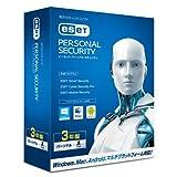 ESET パーソナル セキュリティ | 1台3年版 | Win/Mac/Android対応