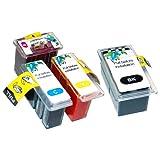 キャノン ( CANON ) BC-310 + BC-311 (ブラック+カラーセット) iP2700 対応 【新開発】 詰め替えインク ( スマートカートリッジ )純正比17%~27%増量≪ベルカラー≫