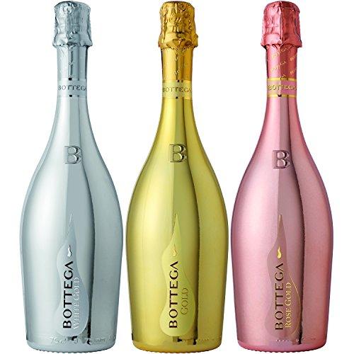 ボッテガのスパーリングワインは高級感があり飲んでよし、飾っておしゃれなアイテム
