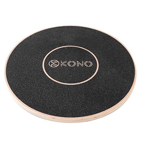 Kono(コノ) バランスボード バランスディスク 体幹トレーニング トレーニング エクササイズ ウッド 木製 直径40cm