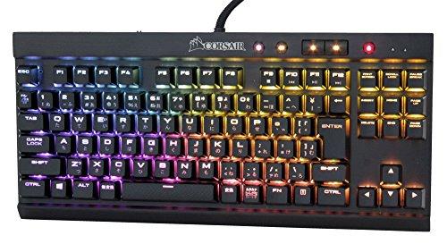 Corsair K65 RAPIDFIRE CherryMX Speed RGB COMPACT-日本語 ゲーミングキーボード- KB356 CH-9110014-JP