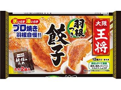 大阪王将 羽根つき餃子 314G[冷凍]