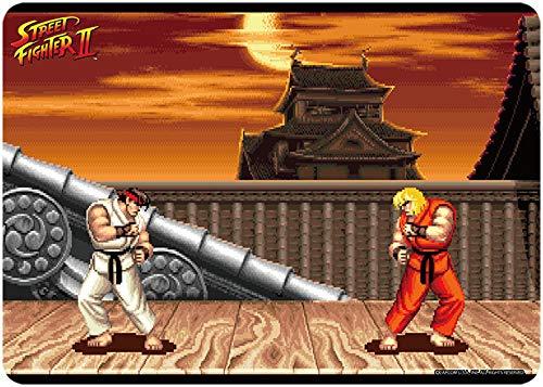 キャラクター万能ラバーマット STREET FIGHTER II リュウステージ 約長辺520×短辺370×厚さ2mm
