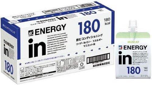 ウイダーinゼリー エネルギー マスカット味 180g×6個