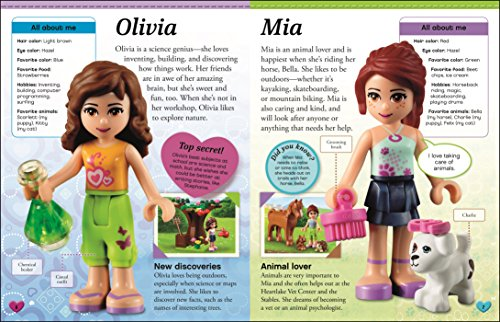 LEGO® Friends Character Encyclopedia (Lego Friends)