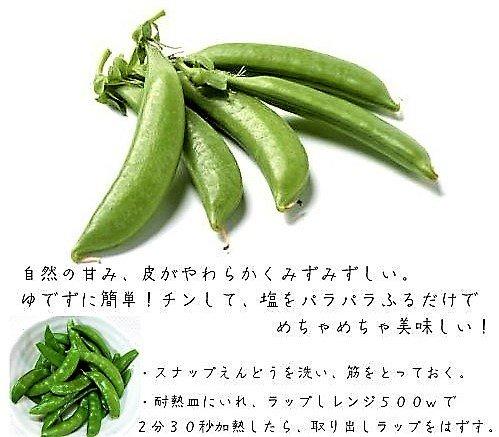 【 九州野菜】厳選産地 スナップ えんどう 約1kg箱