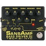 SANSAMP 『BASS DRIVER DI V2』 ベース専用ドライブエフェクター&アンプシュミレーター&DI機能搭載 [国内正規品]