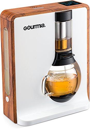 gourmia–gct8000–Personal Tea &コーヒーメーカー–Loose Leaf Teas 1つボタン醸造システム ブラウン GTC8000W