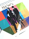 NEWS LIVE TOUR 2017 NEVERLAND 公式グッズ 「カレンダー」+ 公式写真 【 NEWS 】1種 セット -