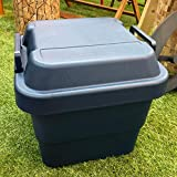 リス『ハードに使える収納ボックス』 トランクカーゴ TC-グリーン (30Lネイビー)