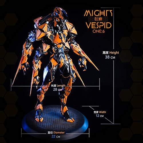 限定版【NRtoys】1/6 フィギュア 用 ドール コスプレ モデル Mighty vespid ロボット 甲冑 彫像 アクセサリー ホビ 標準版 NR06-A