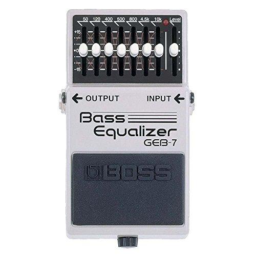 BOSS Bass Equalizer GEB-7 MOOER エフェクター のコピー元一覧! 元ネタはあの名機!!