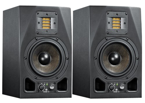 ADAM A5X スタジオモニター (ペア) MONJOE(yahyel/DATS) さんのオススメ機材は「adam audio a5x」【徹底紹介】プロの作曲家・アーティストの買ってよかったオススメ機材・プラグイン!エンジニア・DTMerは必見!【DTM・REC】