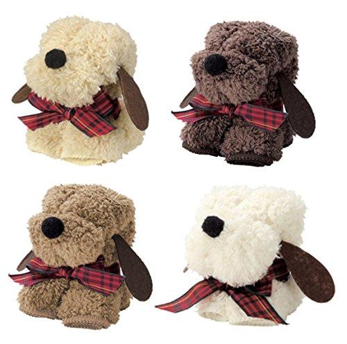ハンカチで作られた可愛い人形をプチギフトでプレゼント