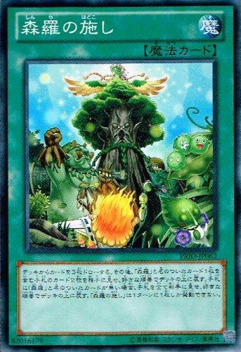 遊戯王 PRIO-JP062-N 《森羅の施し》 Normal