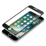 iPhone7Plusガラス 5.5インチ対応 Premium Style 液晶保護ガラス 全面保護 光沢 ブラック PG-16LGL16BK