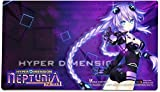 "Hyperdimension Neptunia :パープルハートマウスパッドPlaymat ( 24 "" x 14 ""インチ) Officially Licensed by CWSメディア"