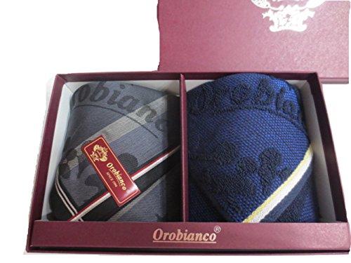 Orobiancoのタオルとハンカチをプレゼント