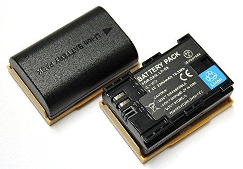 【エーポケ】2個セット キャノン LP-E6 互換バッテリー EOS 6D/ EOS 5D MarkII/EOS60D/EOS 7D/BG-E7/BG-E6/BG-E9/EOS 5D MarkIII/ EOS 60Da/BG-E13/EOS 70D/BG-E14【電気用品安全法:(株)FUJIYAMA明記のPSEマーク付】