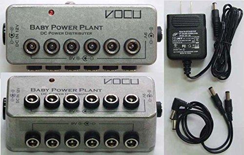 VOCU Baby Power Plant Type-A パワーサプライ 小さくて安いパワーサプライ特集! エフェクターボードに邪魔にならないコンパクトなオススメ電源!【ギター・ベース】