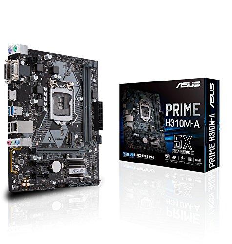 ASUS  Intel H310搭載 マザーボード  LGA1151対応 PRIME H310M-A【μATX】