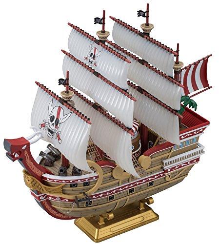 本格帆船プラモデルシリーズ ワンピース レッド・フォース号 色分け済みプラモデル