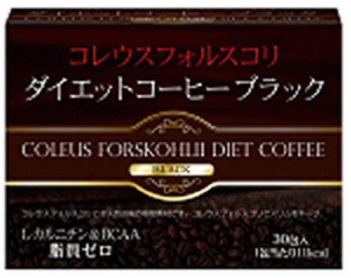 ユーワ コレウスフォルスコリダイエットコーヒーブラック3g×30包