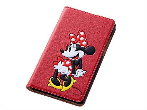 レイ・アウト docomo AQUOS ZETA SH-01G/Disney mobile SH-02G ディズニー・ポップアップ・ブックレザージャケット ミニー RT-DSH01GJ/MN