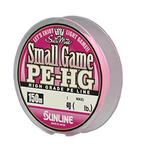 サンライン(SUNLINE) PEライン ソルティメイト スモールゲーム HG 150m 0.6号 10lb サクラピンク