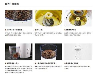 PASSIONE コーヒーグラインダー コーヒーミル カッティング ドリップ ネル 電動 自動 コーン式 豆挽き イタリア