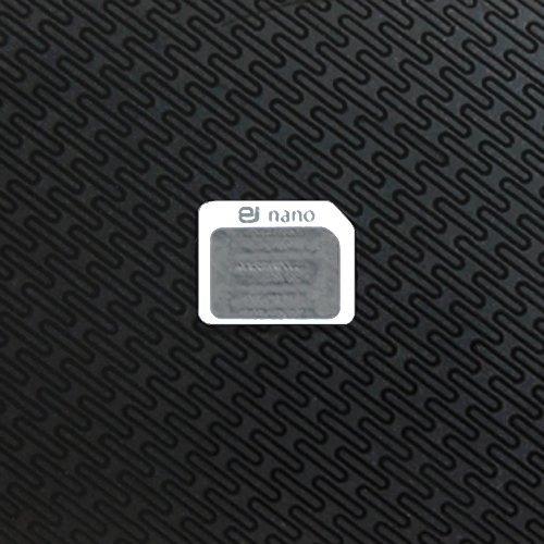 ★ホワイト★Amazon限定!オリジナル【ej】SIMカード変換アダプタ-nano SIMカードをmicro SIMカードへ変換