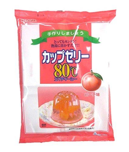 かんてんぱぱ カップゼリー ピーチ味100gX5袋